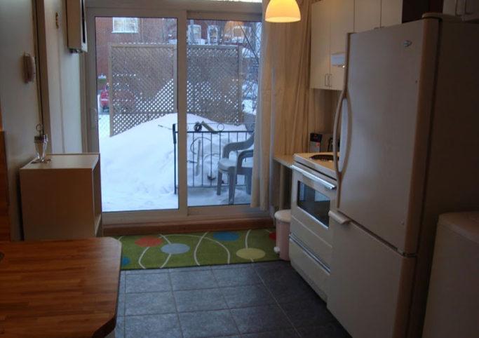 Appartement meubl temporaire montr al m tro rosemont for Location meuble montreal